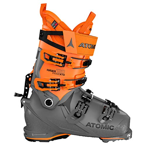 ATOMIC HAWX Prime XTD 120 Tech GW, Botas de esquí Unisex Adulto, Anthracite/Orange/Black, 37.5 EU