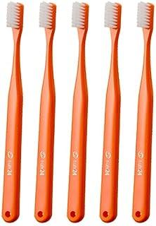 キャップなし タフト24 歯ブラシ × 25本入 M オレンジ