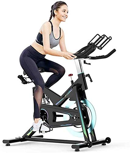 RTRD Indoor Exercise Bike Cycling Bike Exercise Bikes,Stationary Bike with LCD Display Seat and Handle Adjustable for Home Cardio Gym Workout