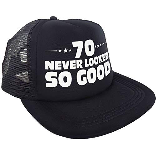 "Sterling James Co. ""70 Never Looked So Good"" Kappe – 70. Geburtstag Party Accessoires, Ideen und Dekoration – lustige Geburtstage"