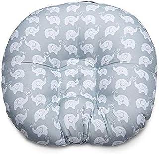 VIMATION Boppy Newborn Lounger, Premium Quality Soft Wipes Fabric, Gray Elephant