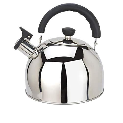 Bouilloire Acier Inoxydable 304 Eau Chaude Sifflet Grande Capacité Théière Cuisinière À Induction Cuisinière À Gaz Usage Général (taille : 6L)