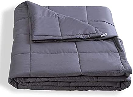 Dako Living Upgraded Premium Weighted Blanket for Adults Heavy Blanket for Relax and Sleeping Better (5lbs)