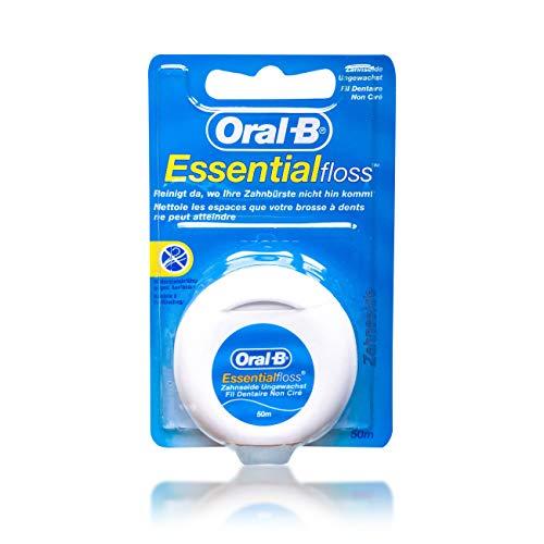 5Pack Oral-B Essentialfloss Zahnseide ungewachst 5x 50m