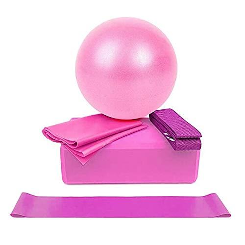 Ponacat - Yoga-Starter-Sets in Rosa