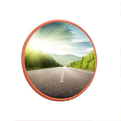 Jian E-& konvex säkerhetsspegel trafikspegel böjd väg hörn kollision anti-kollision för butik lager parkeringsplats butik kassa stöldskydd// (storlek: 75 cm)
