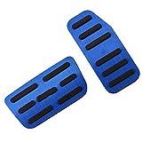 SODMLZ 2 unids/Set de Pedales de Coche, para Honda Fit Jazz 2011-2020, Accesorios de Piezas de Repuesto, Cubierta Protectora de Pedal de Freno de Coche