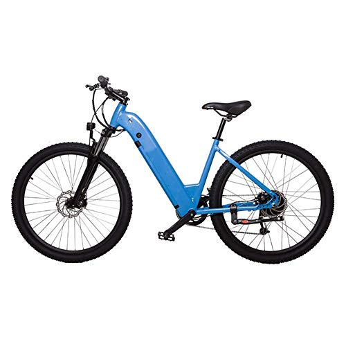 LZMXMYS Bicicleta eléctrica, 27.5 Pulgadas Bicicleta eléctrica for Adultos eléctrico Bicicleta de montaña/eléctrica Tráfico for Bicicleta con 36v 10.4ah batería de Litio y Profesional Velocidad Engr