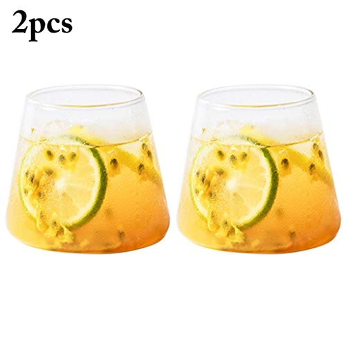 Vasos De Cóctel Juego De 2 Coupe Fría Caliente, Beber, Café 300Ml 3,54