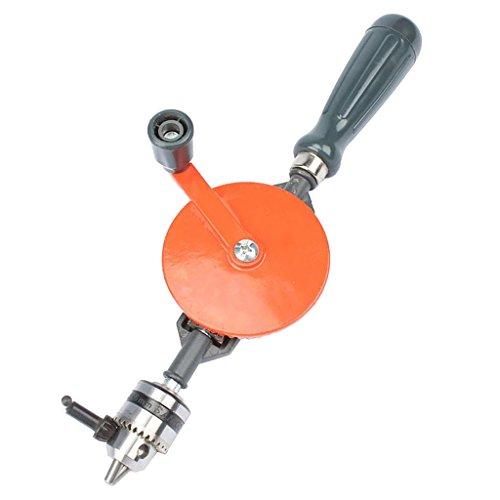 Amuzocity Doppelritzel Mini Handbohrer 3/8