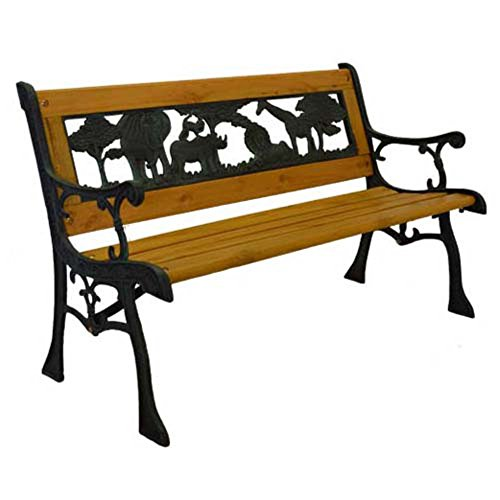 abc outdoor benches CHILDRENS BENCH CASTIRON