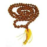 Mala con Semillas de Rudraksha Minerales y Cristales, Belleza energética, Meditacion, Amuletos Espirituales