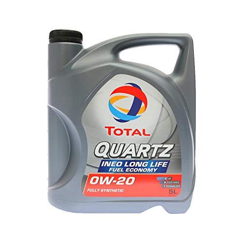 Total motorolie motorolie smering smeermiddel kwarts Ineo Longlife Fuel Economy 0W-20 5L 206764