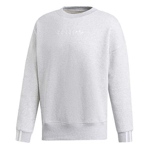 adidas Damen Coeeze Sweat Sweatshirt, Grau (Brgrcl), 42