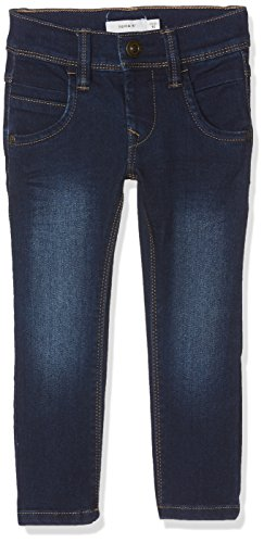 NAME IT Jungen NITTAX Slim/XSL DNM Pant NMT NOOS Jeans, Blau (Dark Blue Denim), 128