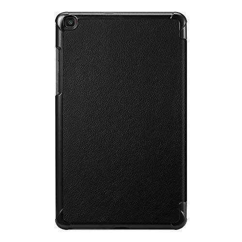 Fintie Hülle für Samsung Galaxy Tab A 8.0 SM-T290/T295 2019 - Ultra Schlank Kunstleder Schutzhülle Cover Case mit Standfunktion für Samsung Galaxy Tab A 8.0 Zoll 2019 Tablet, Schwarz