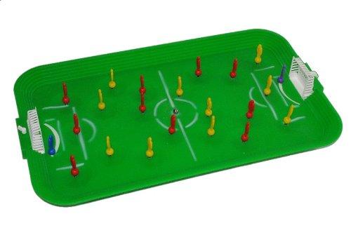 alles-meine.de GmbH Tischfußball Spiel Komplettset incl. Spieler Ball Tor Fußballspiel Fußball Tisch Tischfussball Spiel