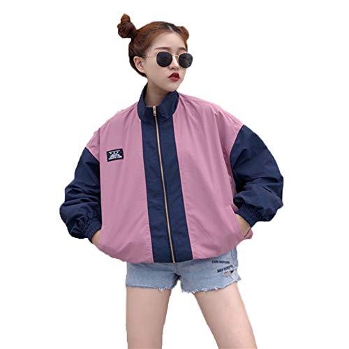 NSWTKL trenchcoat herfst mode trenchcoat tweekleurige zakken met ritssluiting casual lange mouwen zomerjas voor dames mantel outwear