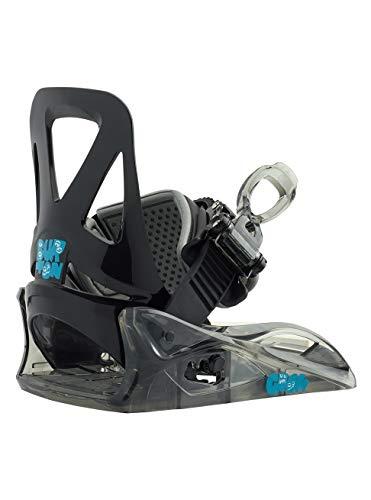 Burton Kinder Grom Snowboard Bindung, Black, XS