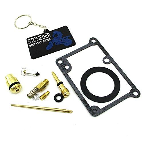 STONEDER Kit complet de réparation de carburateur pour Yamaha YFS 200 Blaster 1988 1989 1990 1991 1992 1993 1994 1995 1996 1997 1998 1999 2000 2001 2002 2003 2004 2005 2006.