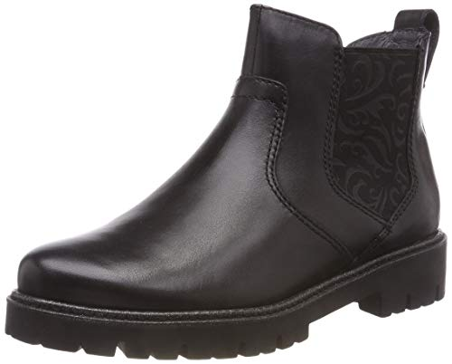 Be Natural Damen 25441-21 Chelsea Boots, Schwarz (Black 001), 39 EU