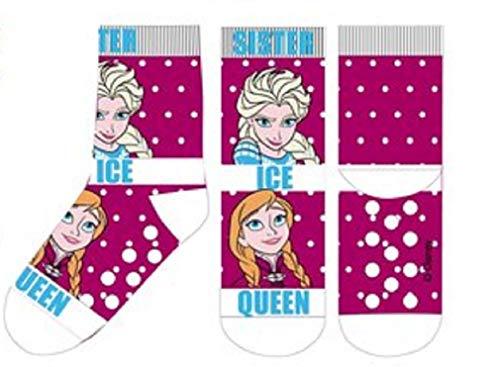 Suncity Calcetines antideslizantes Elsa y Anna Frozen 23/26