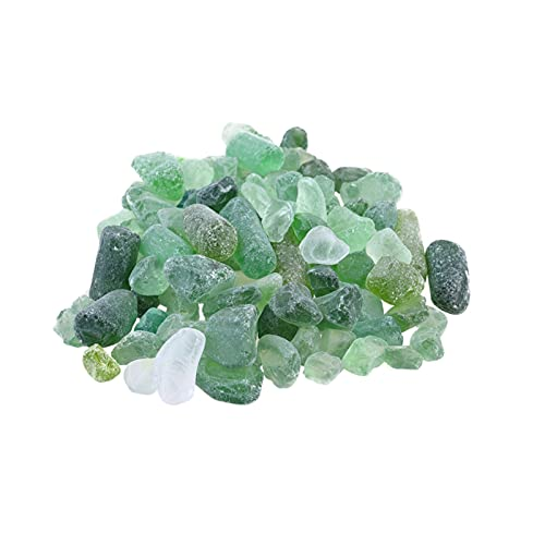 YSJJAXR Naturkristall rau 1 Packung Natürlicher Zerkleinerer Kristall Felsen Chips Stein Unregelmäßige Form Kristall Kieselsteine Home Indoor Tank Blumentopf Kies (Color : Picture 3, Size : M)