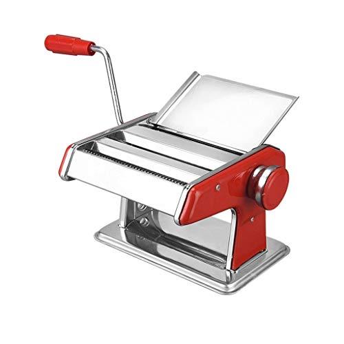 pequeño y compacto Máquina para hacer pasta ZWB – Máquina para hacer fideos con rodillo manual de acero inoxidable …