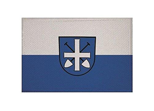 U24 Aufnäher Graben-Neudorf Fahne Flagge Aufbügler Patch 9 x 6 cm