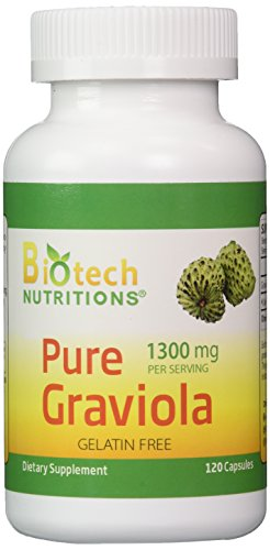 Biotech Nutritions Graviola 100% Pure Graviola...