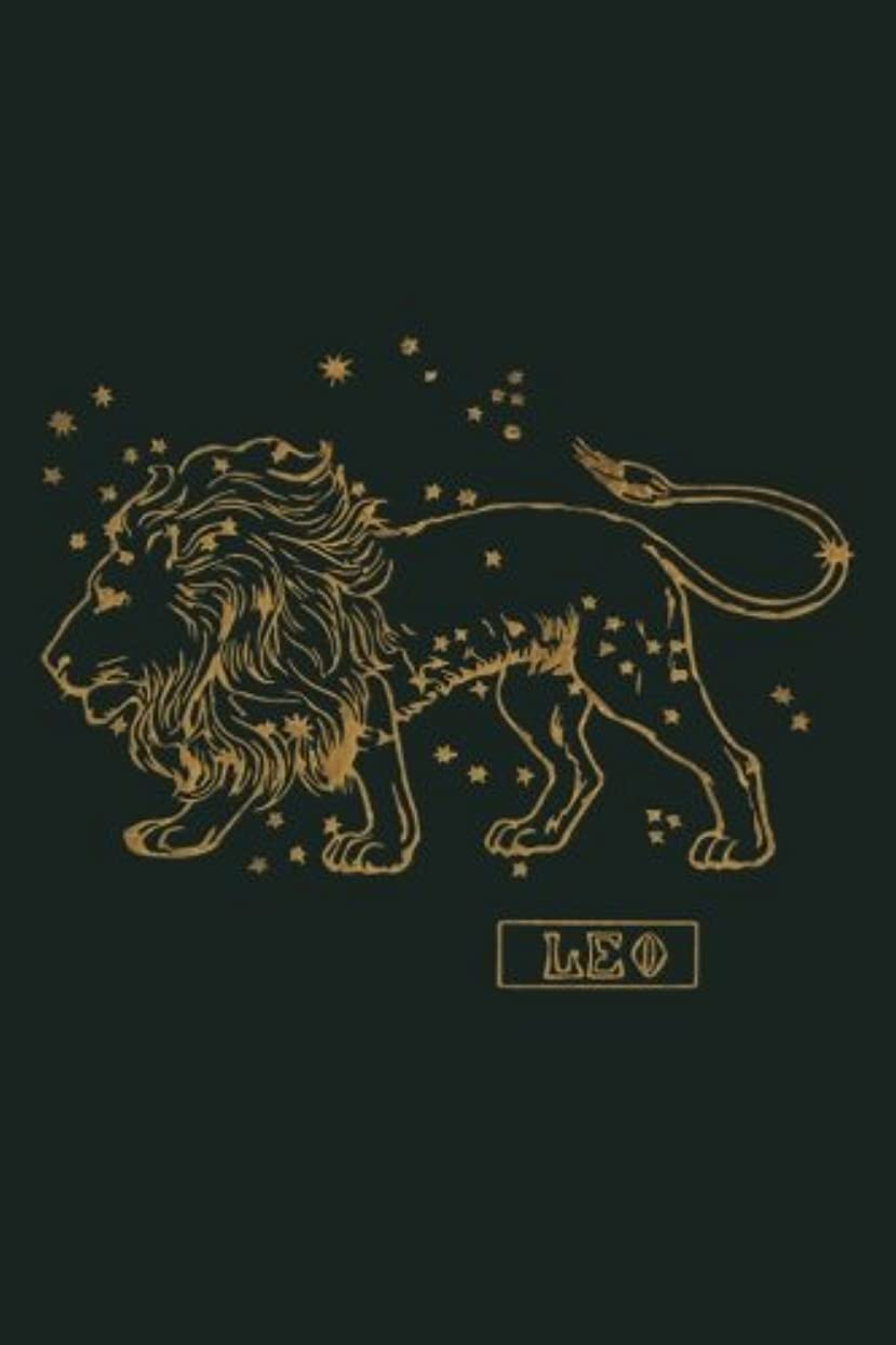 マリナー立方体仮称Leo: Zodiac Notebook 120-Page Lined Leo Zodiac Design Journal (Leo Zodiac Gifts)