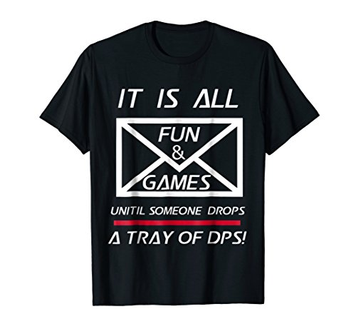 Proud Postal Worker Shirt All Fun and Games Tray of DPS