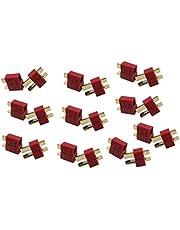 Eva Shop® Conectores en T de nailon Dean de alta corriente (20 unidades, 10 pares)