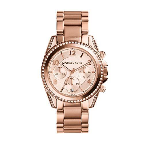 Michael Kors Reloj con Correa de Acero para Mujer MK5263