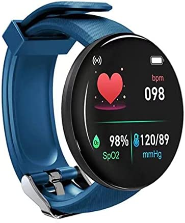 Smart Watch for Android Phones and iOS Phones, Heart_Rate Monitor Watch, Smartwatch Fitness Tracker, Sleep/Blood_Oxygen Monitor, IP65 Daily Life Waterproof Smart Watches for Men Women