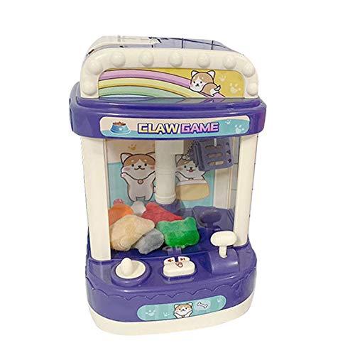 BuffyIn Mini máquina de muñeca de agarre, máquina expendedora de jugadores operada por música, mini clip de muñeca máquina de agarrador de luz regalos para niños