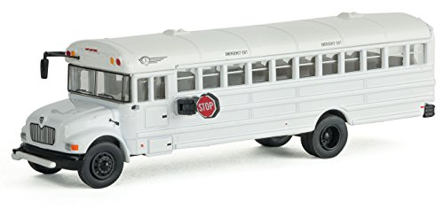 Walthers SceneMaster MOW Crew Bus- White
