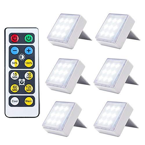 Nachtlicht Led Kabellose Touch Dimmbare Nachtlicht Batterieleistung Für Treppen Korridor Schrank Schlafzimmer Mini Smart Nachtlichter Wohnkultur 6Lamp1Controller