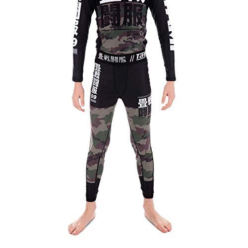 Tatami Fightwear Kids Essential Camo Spats Black/Green