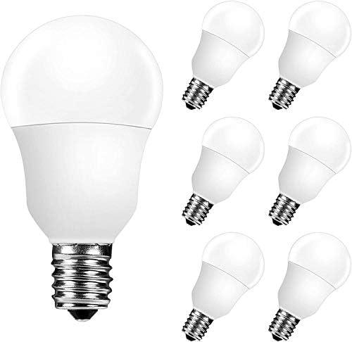 E17 Led Bulb A15 Ceiling Fan Light Bulbs 6W 60 Watt Equivalent Daylight White 5000K Intermediate product image