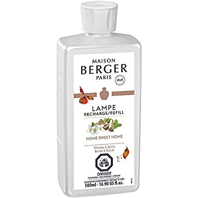 MAISON BERGER Sweet Lampe Berger Refill for Home Fragrance Oil Diffuser, 16.9 Fluid Ounces-500 milliliters