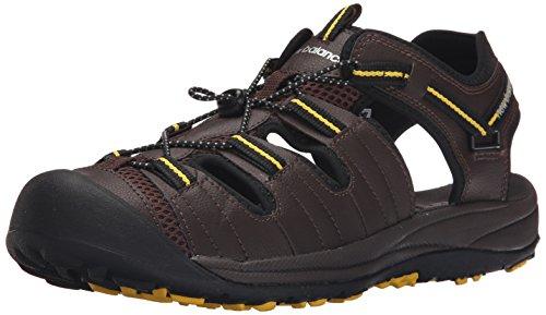 New Balance Mens Appalachian Sandal, Brown, 11 M US