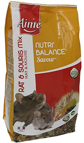 AIME Nourriture pour Rat et Souris, NUTRI'BALANCE...