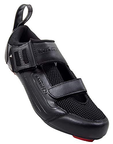 Tommaso Veloce 100 Triathlon Road Cycling Shoe - Black - 44