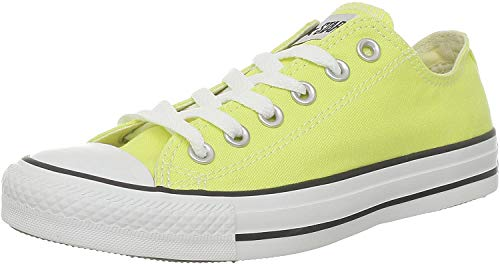 Converse Damen Schuhe All Star Ox Gelb Sneakers Chucks Größe 39,5