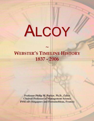 Alcoy: Webster's Timeline History, 1837 - 2006