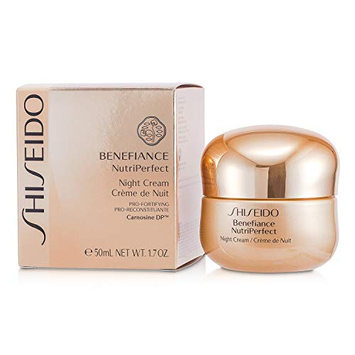 Shiseido Benefiance Nutriperfect Night Cream 1.7 oz/ 50 ml by Shiseido (English Manual)