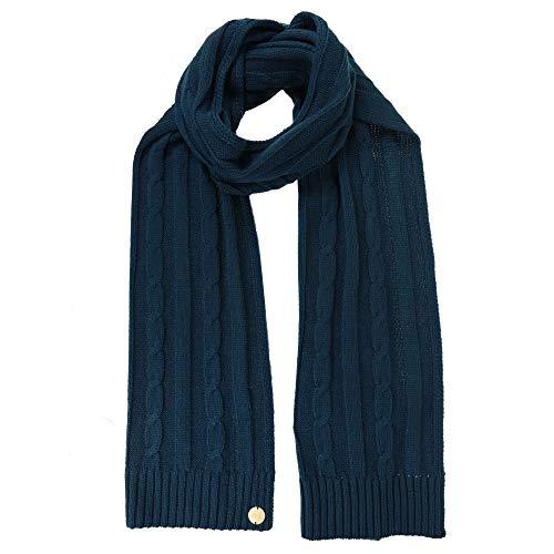 Regatta Multimix II' Cable Knit Scarf Couvre-Chef Femme, Bleu Sarcelle Profond, SGL