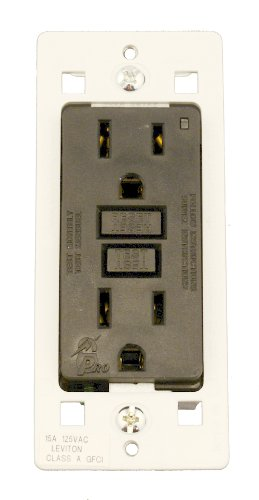 Leviton Smartlock Pro GFCI Receptacle with Cheetah Speed Anchors