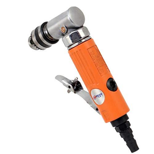 Sharplace Taladro Neumático Broca de Ángulo Recto de 10 Mm con Taladradora Neumática - 7005L